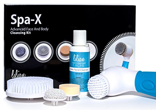 Lilian Fache Spa-X Advanced Waterproof Facial and Body Cleansing Kit (Dermabrasion Face Scrubber compare prices)