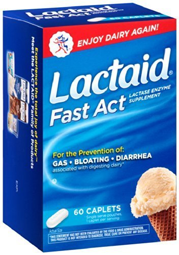 Lactaid Fast Act Lactase Enzyme Supplement, 192 Count ,Lactaid-g8hy