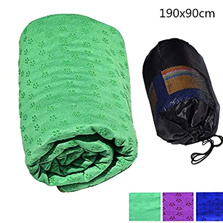 Faviye Yoga Towel Toalla de Yoga de Microfibra ...