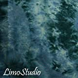 LimoStudio 6 X 9 Ft Photo Studio Oxford Blue Cloudy Hand Dyed Backdrop Backgrounds, AGG1355