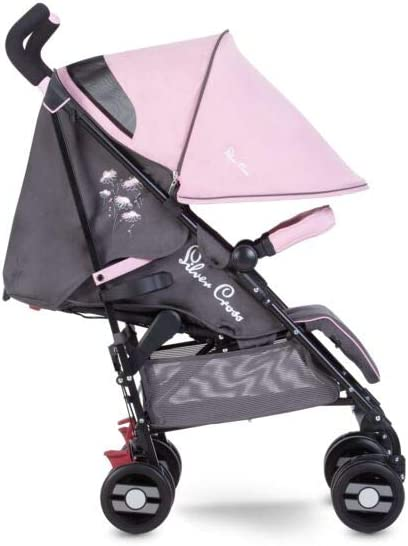 Silver Cross Pop Star Stroller, Compact and Lightweight Pushchair – Dancing Daisies