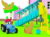 Learn Animals with Ted The Train : The Circus/Surprise Eggs