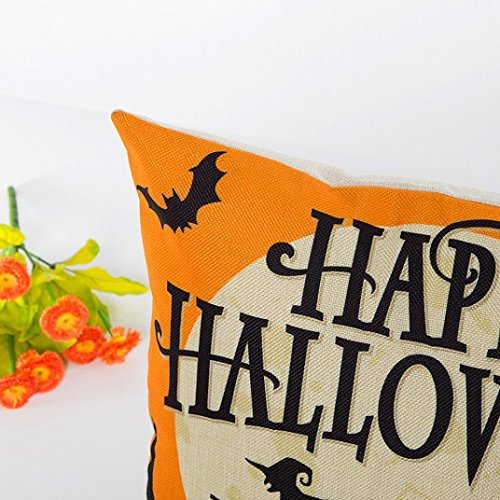 Pillow Case Neartime Halloween Sofa Bed Home Decor Pillow Case Cushion Cover (Free, D) by NEARTIME (Image #2)