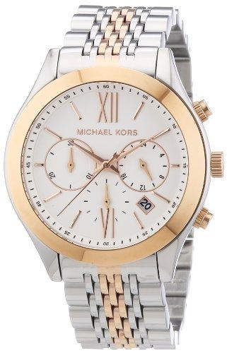 Amazon.com  Michael Kors Brookton Two-Tone Stainless Steel Women s Watch -  MK5763  Michael Kors  Watches 17735dc3c3