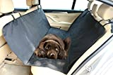 SAWMONG Pet Dog Car Seat Cover, Waterproof, Scratch Proof, Non Slip, Padded, Durable For Cars, Trucks, SUVs Back Seat Machine Washable Seat Cover