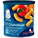 Gerber Graduates Lil' Crunchies, Apple Sweet Potato, 1.48 Ounce (Pack of 6)