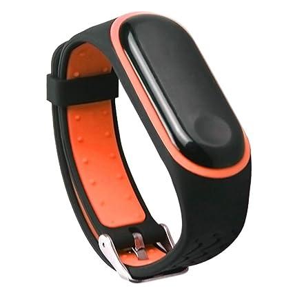 Xiaomi Mi Band 3 Correas Silicona, Zolimx Correas para Relojes | Reloj Inteligente Mujer Xiaomi