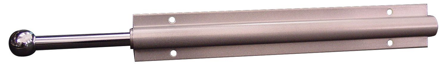 Easy Track Sliding Wardrobe Rod, Chrome