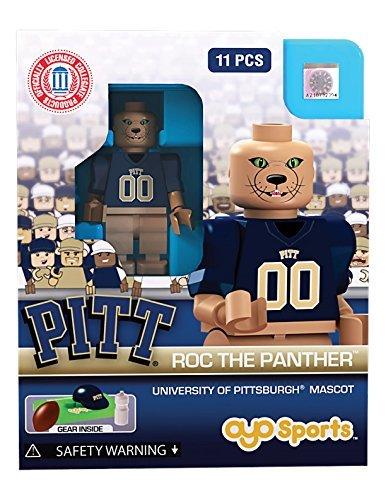 Roc The Panther Mascot OYO Generation 1 G1 Series 1 Pitt Pittsburgh Panthers NCAA LE Mini (Panthers Ncaa Mini)