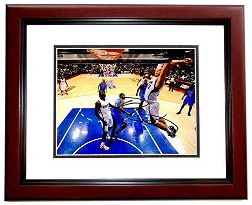 Los Angeles Clippers Photograph (Blake Griffin Signed - Autographed Los Angeles Clippers 8x10 Photo MAHOGANY CUSTOM)
