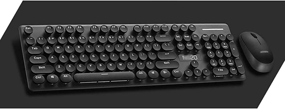 Sici Kit inalámbrico de 2.4G para Teclado y Mouse,Botón ...