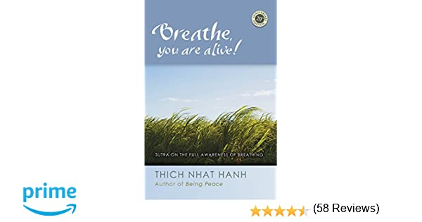 Amazon breathe you are alive the sutra on the full amazon breathe you are alive the sutra on the full awareness of breathing 9781888375848 thich nhat hanh books fandeluxe Images