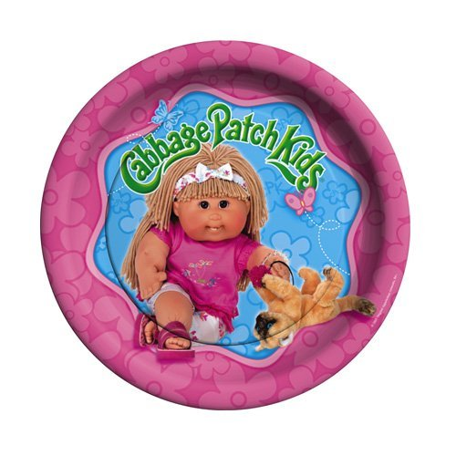 "Cabbage Patch Kids 9"" Dinner Plates - 8 Count"