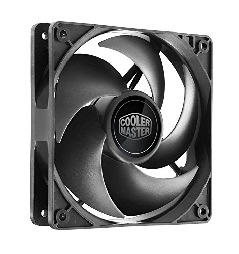 Cooler Master CM Silencio FP 120 PWM 1400RPM Latest in Whisper-Quiet Cooling Performance (R4-SFNL-14PK-R1) (Cooler Master Silencio Case compare prices)
