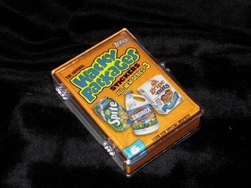 (Topps Wacky Packages Series 3 Complete Set of 55 Stickers -Great Product Parodies- Designed after the classic '70s sets !!)