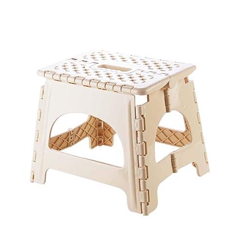 Astounding Amazon Com Jzmai Stool Foldable Plastic Step Stool Pabps2019 Chair Design Images Pabps2019Com