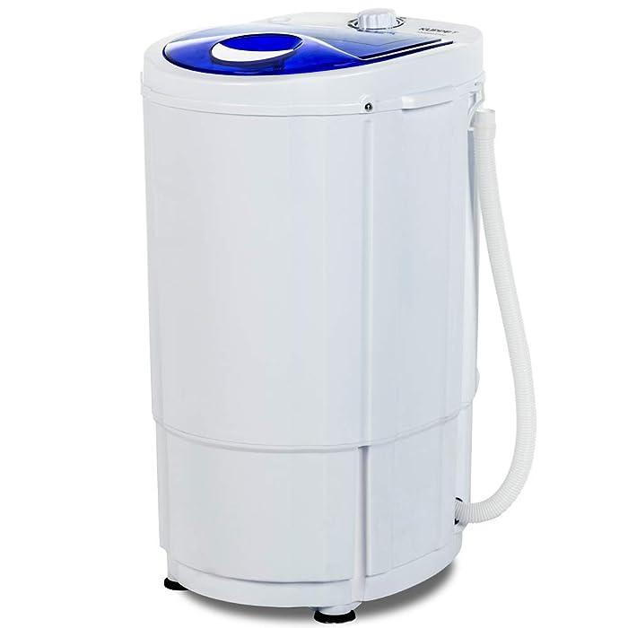 KUPPET Portable Spin Dryer 1800 RPM 110V/10lbs Soft