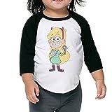 Kid's Star Vs The Forces Of Evil Toddler Unisex 3/4 Sleeve Blended T-Shirt 100% Cotton 4 Toddler