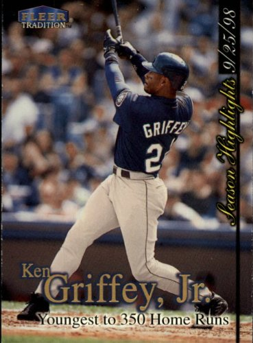 1998 Fleer Tradition Update Baseball Card #U7 Ken Griffey Jr.