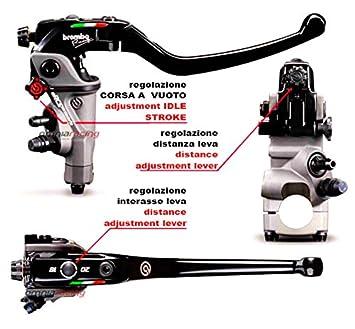 Brembo Corsa corta 110 C74010 rcs19 mastercylinder W/plegable - Palanca de freno, 110.c740.10 - Estados Unidos distribuidor: Amazon.es: Coche y moto