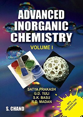Advanced Inorganic Chemistry: v. 1