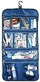 Premium Hanging Toiletry Travel Bag - Cosmetic, Jewelry, Toiletry & Accessory Storage Organizer Bag,...