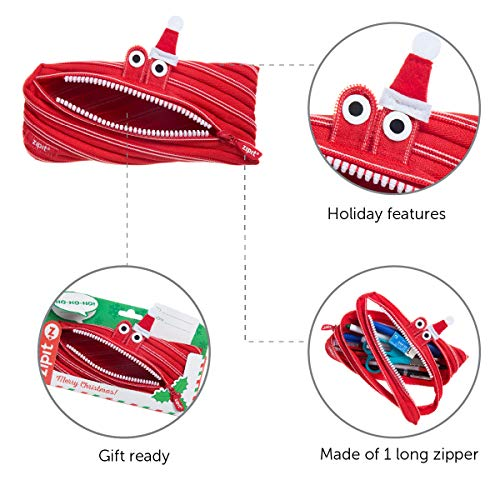 ZIPIT Christmas Monster Pouch, Gift Pack