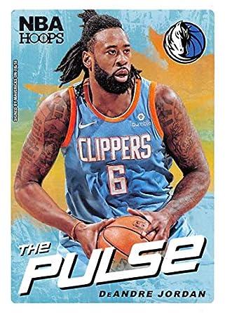 wholesale dealer 2f9e6 44adb Amazon.com: 2018-19 NBA Hoops The Pulse #11 DeAndre Jordan ...
