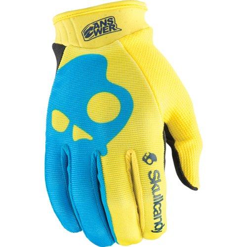 Answer Mens Skullcandy Gloves 2014 XX-Large Blue Yellow