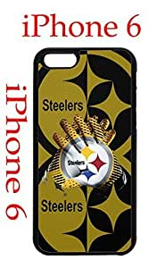 Pittsburgh Steelers iPhone 6 Plus 5.5 Case Hard Silicone Case by supermalls