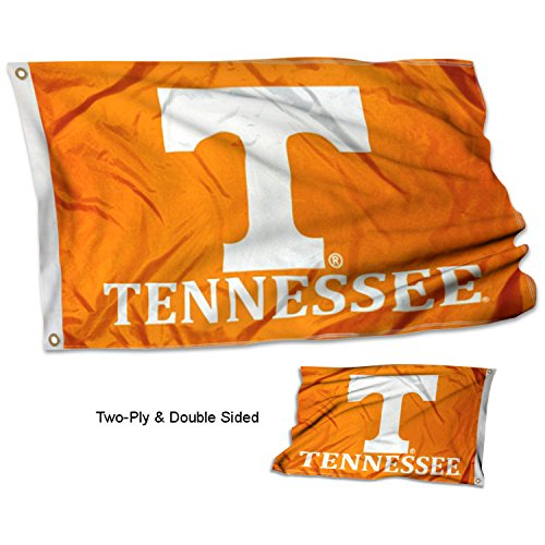 Cheap College Flags and Banners Co. Tennessee Volunteers Double Sided Flag