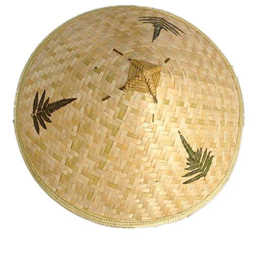 Chinese Oriental Vietnamese Straw Bamboo Sun Hat Farmer Fishing Hat
