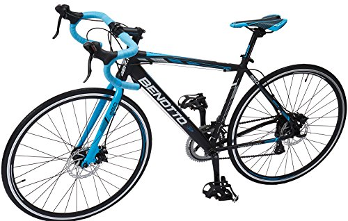 Benotto RRU850701448NE Bicicleta de Aluminio Rodada R700C, Unisex, 14 Velocidades