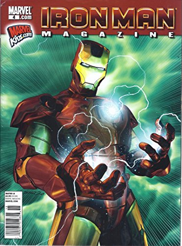 IRON MAN MAGAZINE (MARVEL 4.COM, FEBRUARY NUMBER - Ironman Tampa