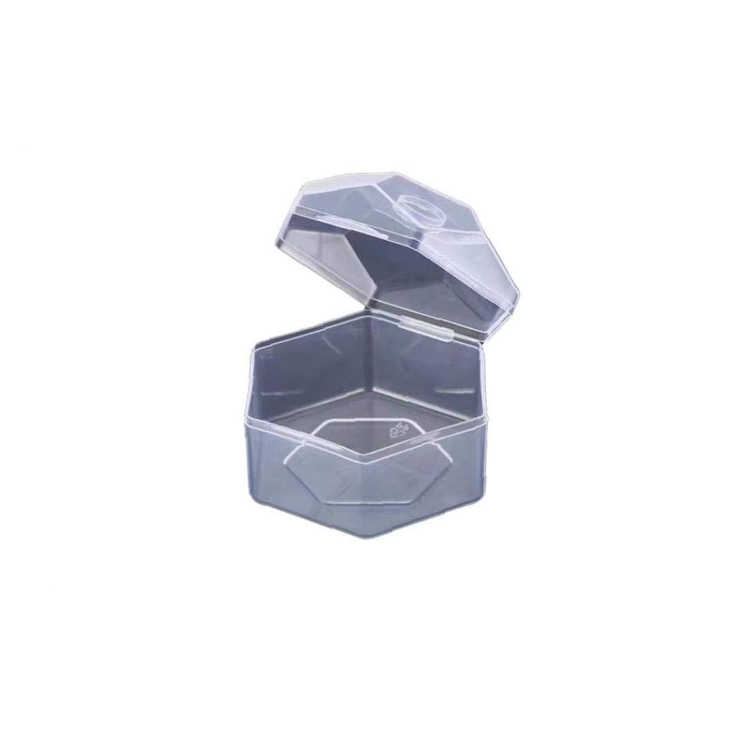 Beb/é Chupete Cuadro Titular Del Pez/ón Claro Chupete Caja De La Caja No T/óxico Titular Chupete De Pl/ástico Caja De Almacenamiento Conveniente Beb/é Escudo Para El Pez/ón Caso