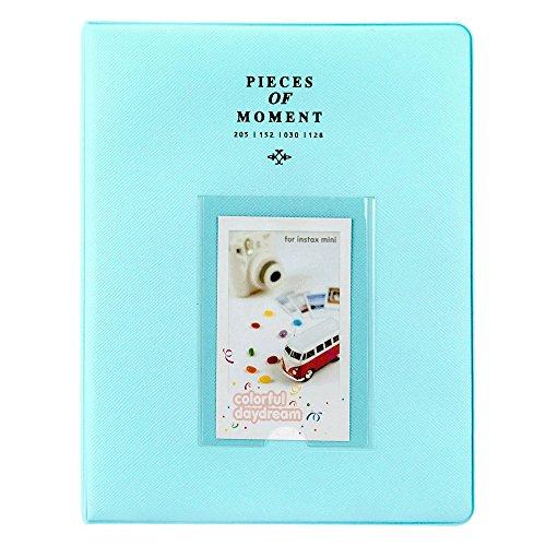 Photo Album for Fuji Instax Prints Holds 128 Photos Turquoise XTFA128TQ - Brand New!!