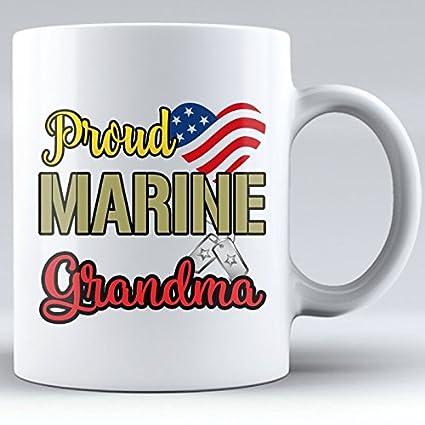Amazon Proud Marine Grandma