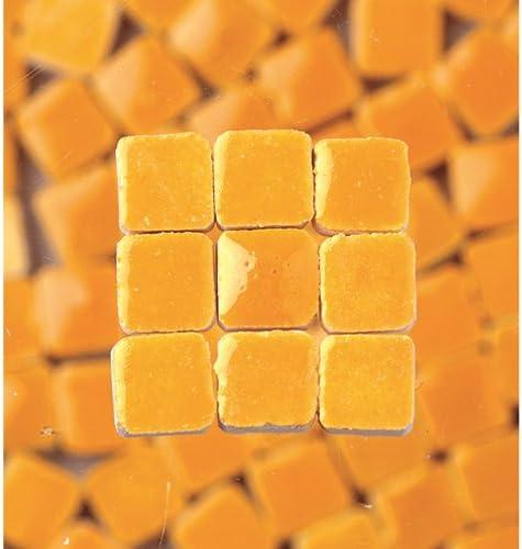 MosaicMicros 5/x 5/x 3/mm 10/G 100/Keramik glasiert Mini Mosaik Fliesen Sand gelb