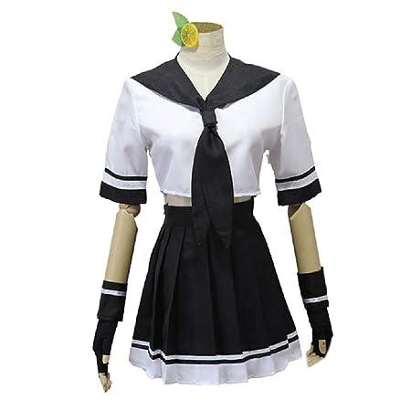 ZY Anime Girl Traje Cosplay Costume Set,White-M: Amazon.es ...