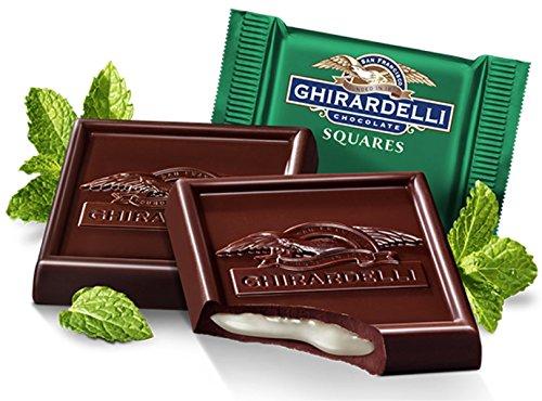 Ghirardelli Bulk Dark Chocolate Mint Squares (3 pound)