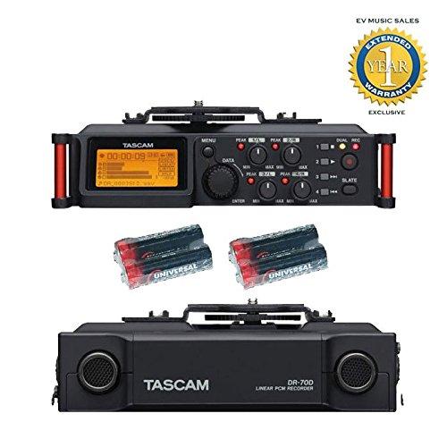 Tascam DR 70D Universal Electronics Batteries product image