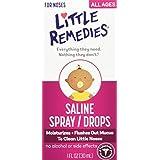 Little Remedies Little Noses Saline Spray/Drops, 1 oz.
