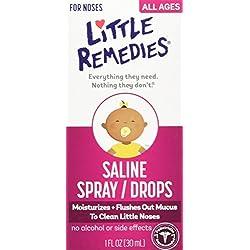 Little Remedies Little Noses Saline Spray/Drops, 1 Ounce
