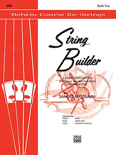 - String Builder  - Bass (Belwin Course for Strings)