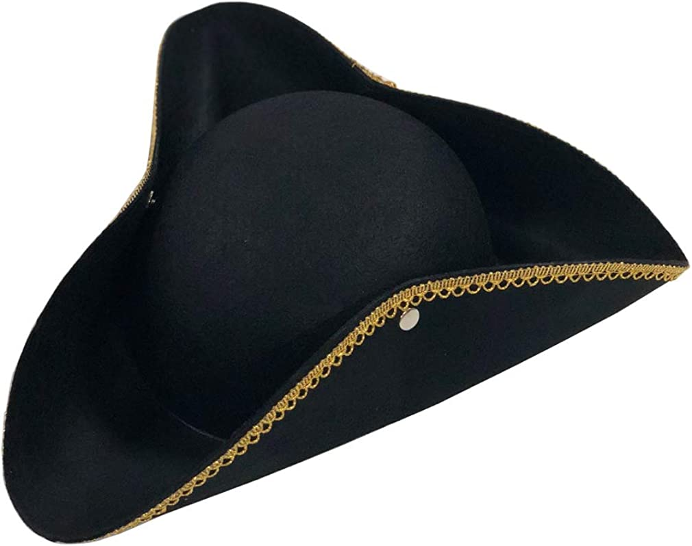 Jacobson Tri Corner Colonial Pirate Hat Larger Child Teen Adult