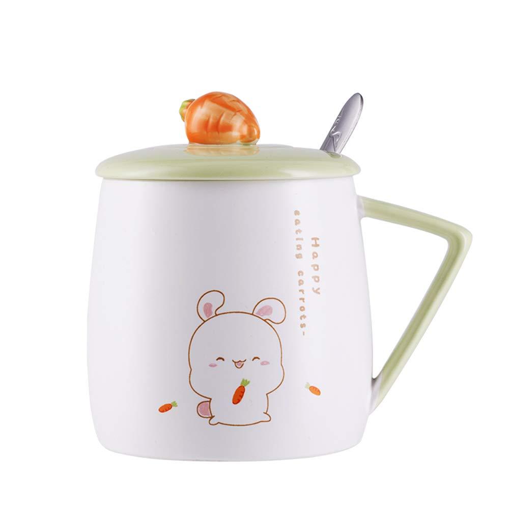 割引購入 Upstyle 3d Cute Cute Cartoon Animal磁器Mini Rabbitコーヒーミルクセラミックマグティーカップタンブラー蓋 3d Animal磁器Mini、ハンドル、お茶、水、ミルク、コーヒー、12oz ( 350ml、a073 Rabbit-3 B07BWH1XQW, 小国町:c74f7780 --- a0267596.xsph.ru