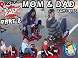 Go Cart Tryouts Kids Vs Parents Whos got Skills?