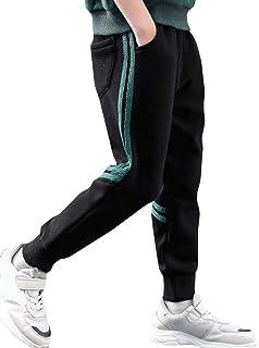 Cromoncent Big Boys Autumn Athletic Jogging Sweatpants Slim Fit Pants