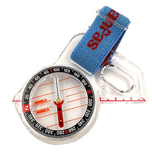 Basic Training Competition Thumb Orienteering Compass for Foot Cross-Country Directional