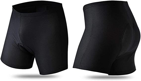 SwampLand Pantalones Cortos Ciclismo para Hombre 3D Gel Ropa ...